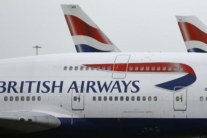 Die Fluggesellschaft British Airways setzt ihre Flüge für mindestens sieben Tage aus.