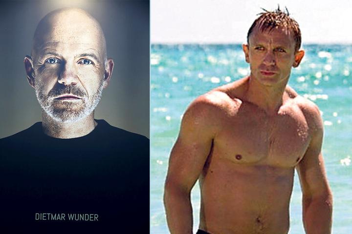 Dietmar Wunder (51) hat vielleicht nicht so viele Muskeln wie James Bond  Daniel Craig (49). Dafür ist seine Stimme trainiert.