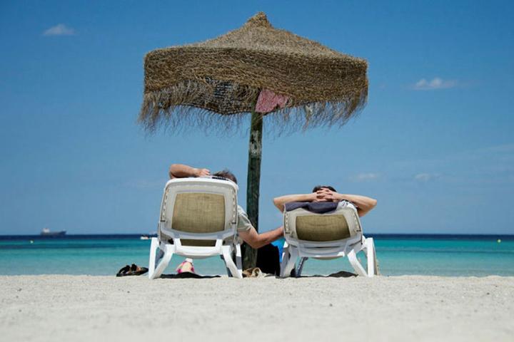 Mallorca - Sonne, Strand und Meer. So stellte sich Uwe K. sein neues Leben vor.