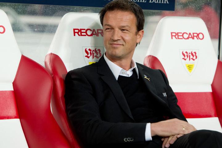 Januar 2014: Damals war Bobic noch Sportvorstand beim VfB.