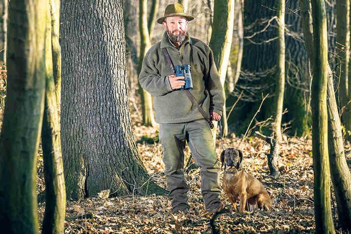 Norman Härtner (55) vom Landesjagdverband will mit Sachsenforst über die  Rettung der Hirsche verhandeln.