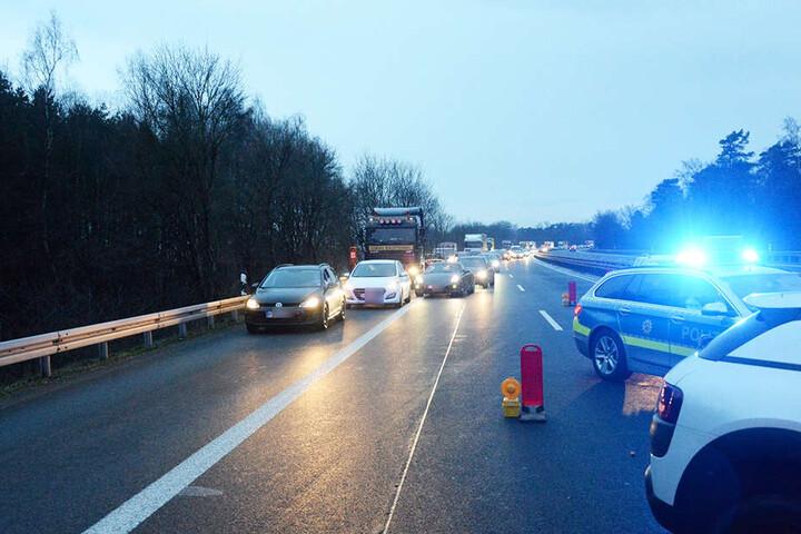 Hunderte Menschen kamen wegen des Unfalls zur spät zur Arbeit.