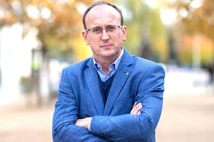 Jörg Vieweg (48, SPD) ist entsetzt.