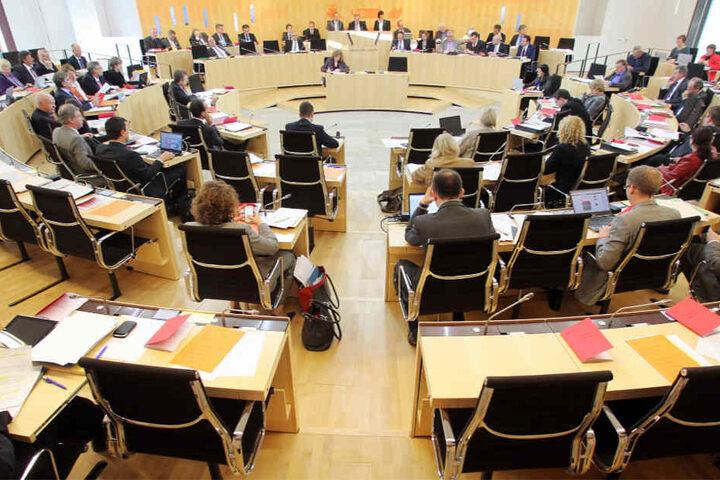 Der Hessische Landtag (Archivbild).