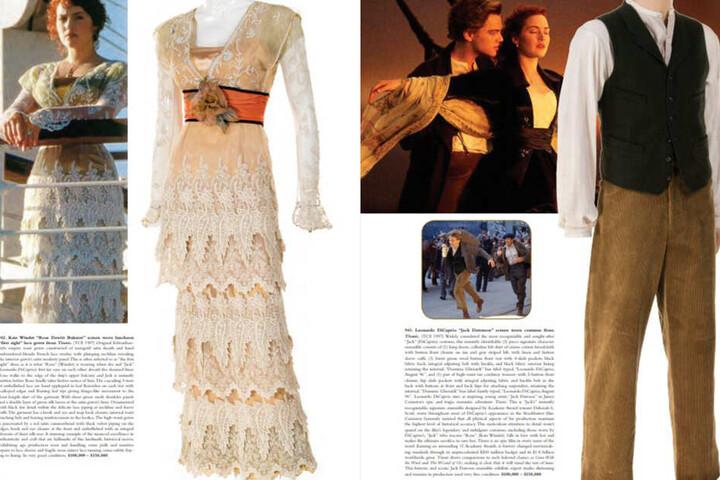 Je 100.000 bis 150.000 Dollar müssen für diese beiden Titanic-Kostüme hingelegt werden.
