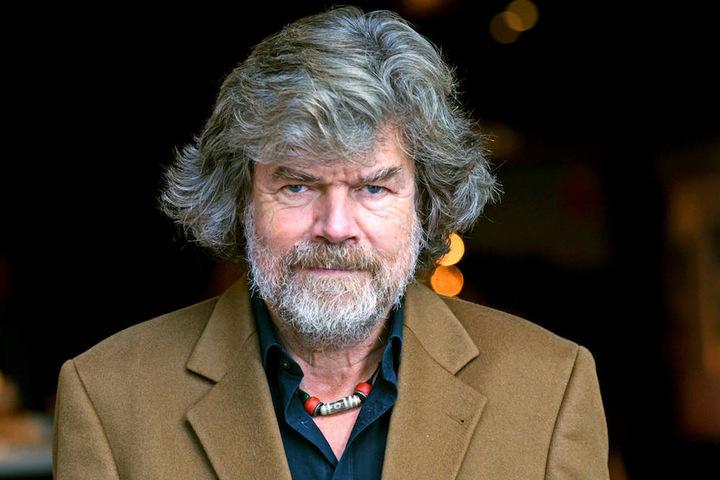 Reinhold Messner (74) gilt als einer der größten lebenden Abenteurer.