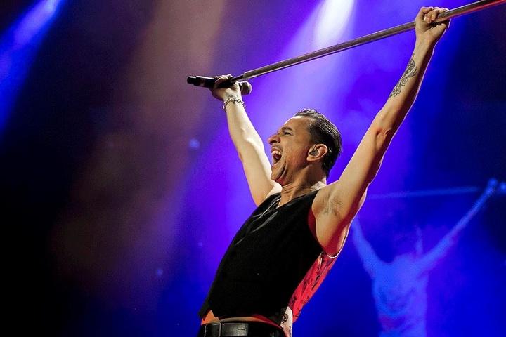 Dave Gahan wird am 7. Juni in Dresden auf der Bühne stehen.