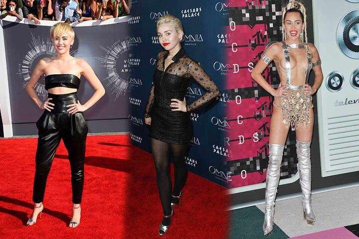 Miley zeigt gerne sehr viel Haut.