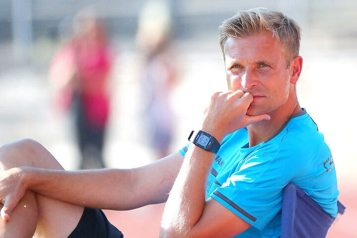 CFC-Coach David Bergner war trotz des Kantersieges mit dem Test in Plauen nicht ganz so glücklich.