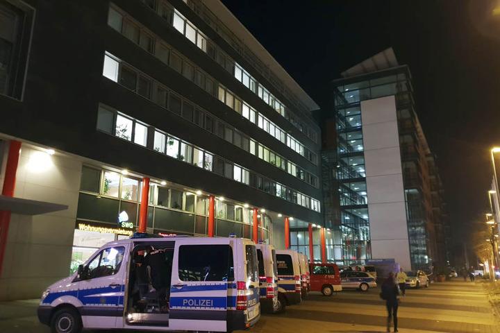 Die Polizei durchsuchte das Jugendamt.
