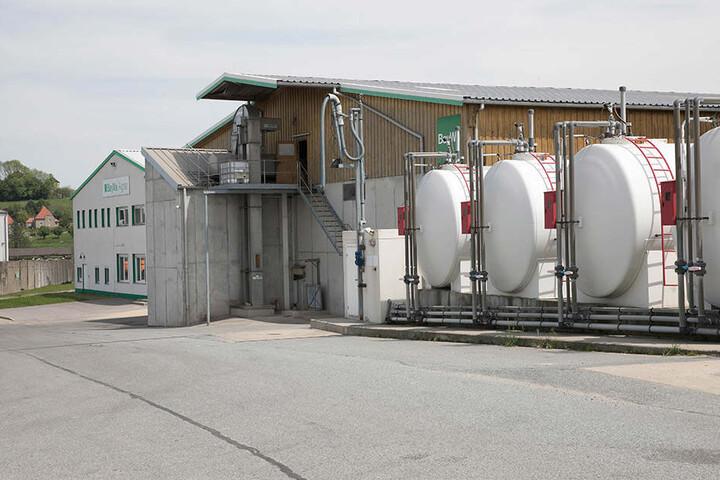 Bei der Firma BayWa in Reichenbach liefen 200 Liter Wasser, verdünnt mit  Pflanzenschutzmittel, aus.