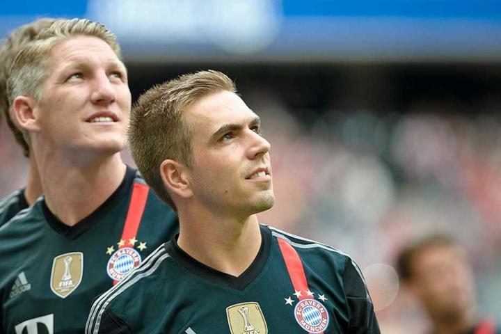 Bastian Schweinsteiger (li.) und Philipp Lahm sind heiße Kandidaten als Fußballexperten für die ARD.