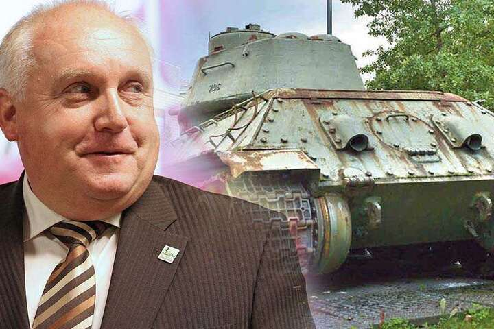 Steht der Panzer-Rückführung offen gegenüber: Löbaus OB Dietmar Buchholz (63, parteilos).