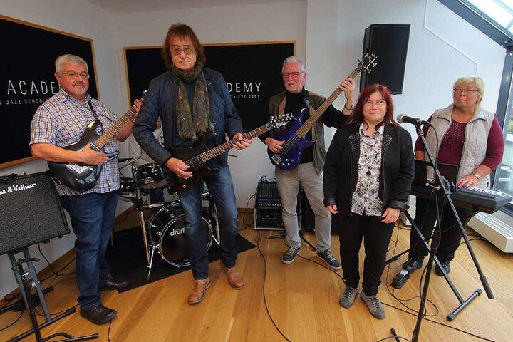 Rockband 60+ heißt das neue Projekt.