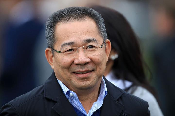 Thailändischer Milliardär und Besitzer des englischen Fußball-Erstligisten Leicester City: Vichai Srivaddhanaprabha (61)