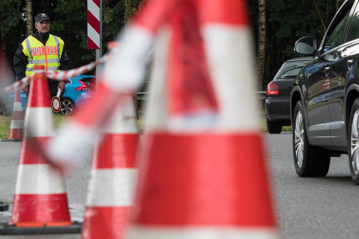 Die Bundespolizei kontrollierte in Klingenthal.