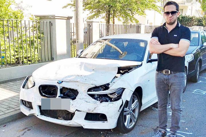 Auch Philipp Schott (31) ist betroffen.