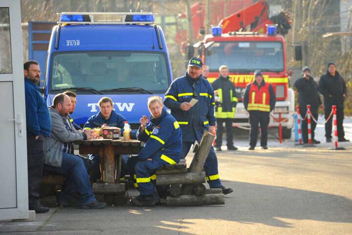 Insgesamt waren rund 140 Helfer vor Ort.