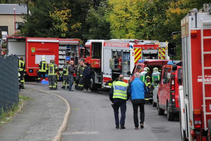Die Feuerwehr war im Großeinsatz vor Ort.