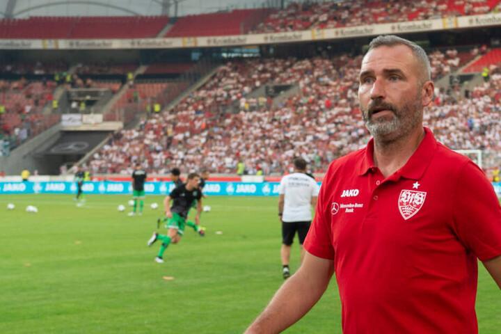 Trainer des VfB Stuttgart Tim Walter.