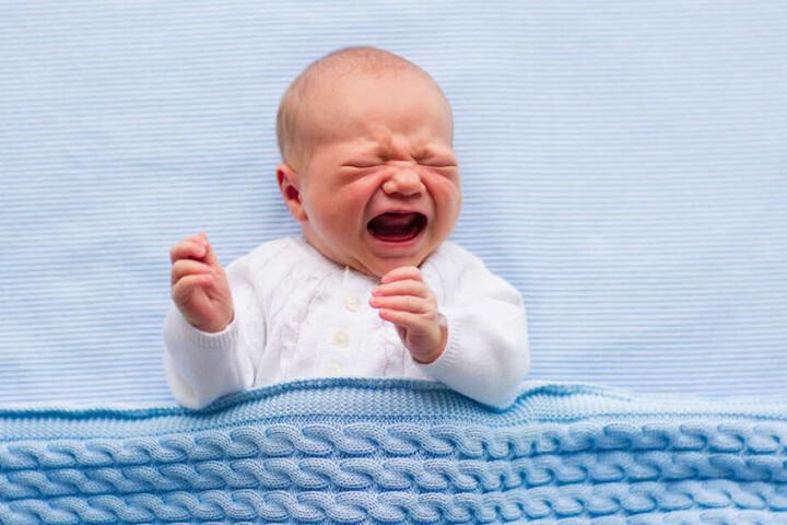 Weil das arme Baby nicht aufhörte zu schreien, brachte seine Mutter es um (Symbolbild).