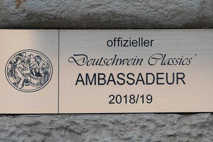 Mit dieser Auszeichnung ehrte Jauch Sommelier Pietzonka.