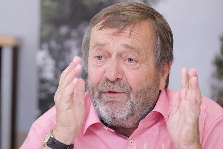Spricht von Notstand: Wolfgang Vogel, Präsident des Landesbauernverbandes Sachsen, fordert Hilfen von Freistaat, Bund und EU.