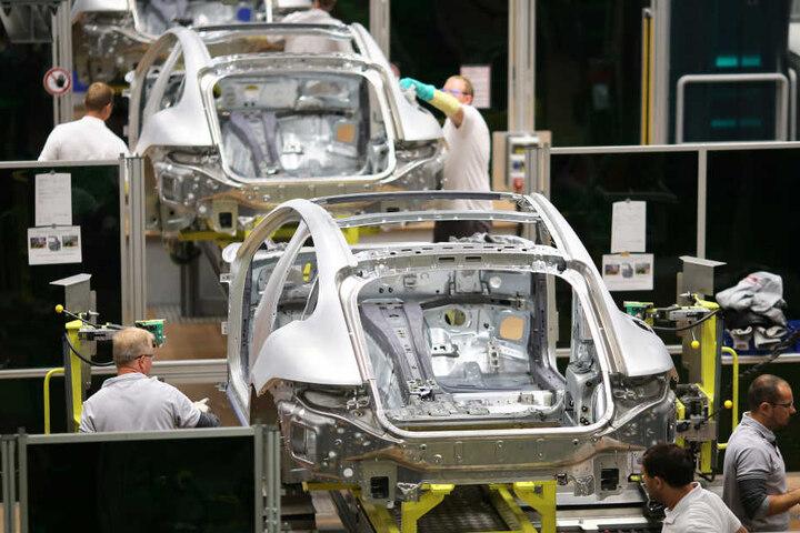 Künftig fertigt das Leipziger Porsche-Werk nicht nur die Karosserien für den Panamera.
