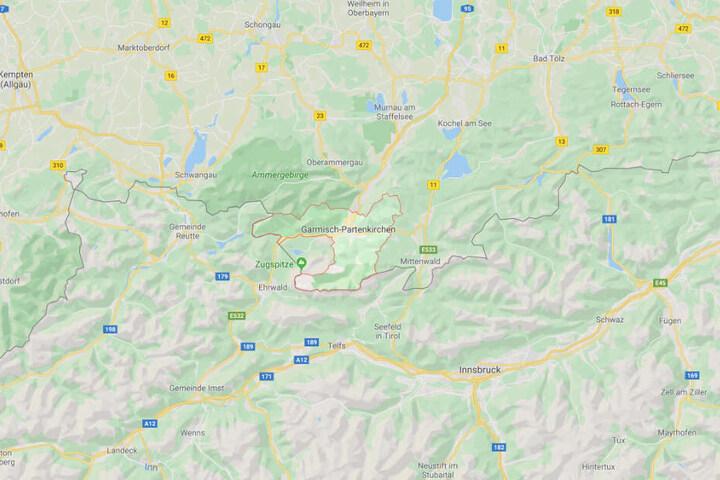 Der Vorfall ereignete sich in einer Wohnung im Stadtgebiet von Garmisch-Partenkirchen.