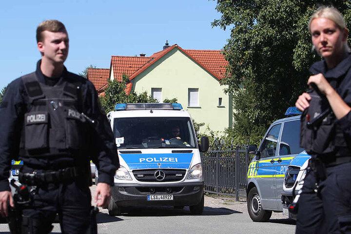 Ende August eskalierte in Sachsen-Anhalt die Zwangsräumung bei  Ex-Mister-Germany Adrian Ursache.
