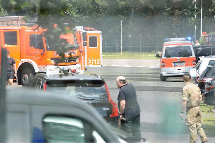 Um 11.40 Uhr wurde die Feuerwehr an die Verler Straße gerufen.