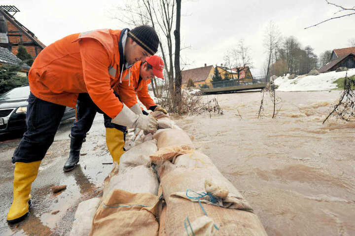 Auch gegen Hochwasser will sich die Landesregierung besser wappnen.