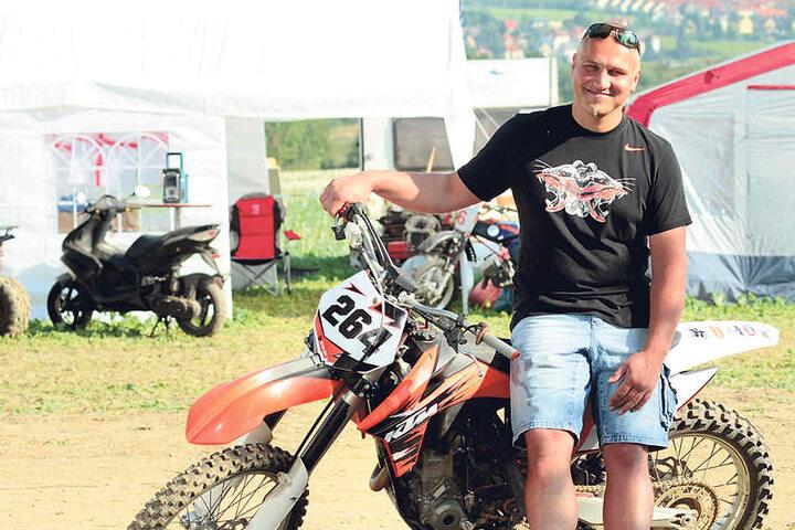 """""""Wir wollen eine Tradition wiederbeleben"""": Organisator Marc Rössig (37)."""