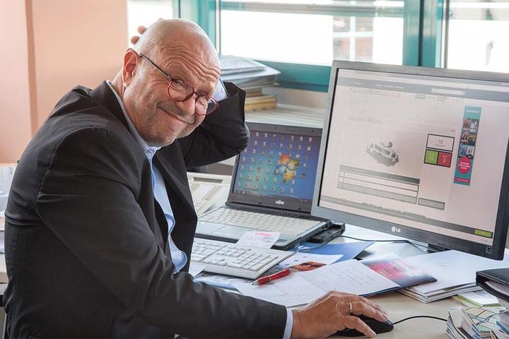 Stefan Tschök (61) kam ins Grübeln - zehn Fehlerpunkte.