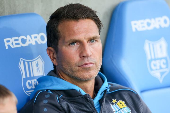 """CFC-Trainer Patrick Glöckner sieht den Treffer von Tallig als """"reguläres Tor""""."""