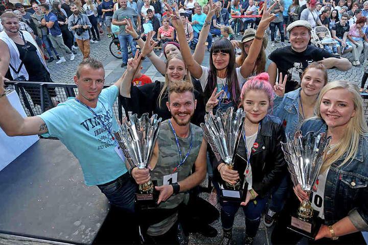 Das Finale von Zwickaus Superstar 2017 fand beim Stadtfest statt.