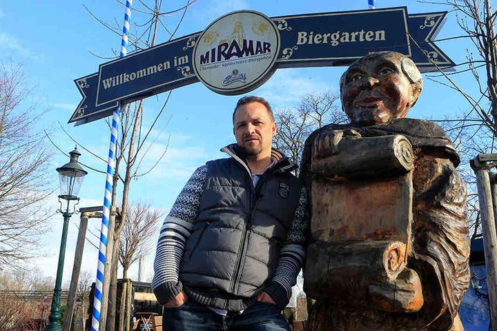 Miramar-Chef André Gruhle (42) hat innerhalb von nur zwei Jahren 16 Einbrüche  erlebt.