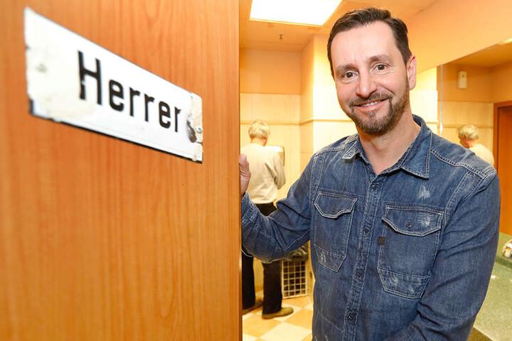 Gastronom André Donath hatte sich vergangene Woche für den Klo-Deal ausgeprochen.