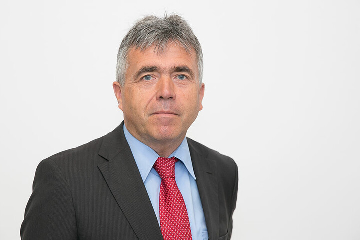 Michael Harig, CDU-Landrat (56) fordert den Abschuss der Rosenthaler Problemwölfe.