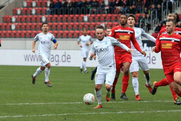 Der SV Meppen lief Rot-Weiß Erfurt quasi davon. Trotzdem blieb es beim 0:0.