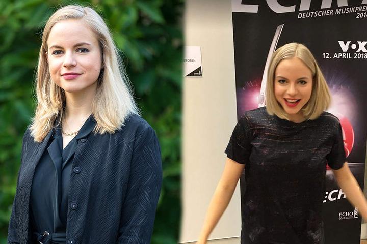Julia Engelmann (25) durfte die Laudatio für den Rockband-Frontmann halten. Bei der Aussprache des Nachnamens unterlief ihr ein Malheur.