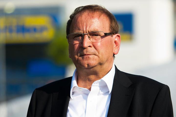 Vorsitzender des Industriepark-Zweckverbandes und OB in Heidenau: Jürgen Opitz (62, CDU).