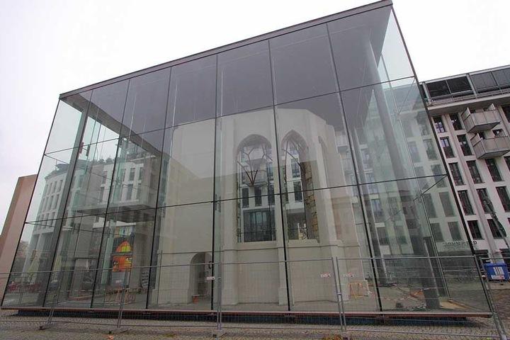 Das Miniatur-Modell wird nach Vollendung der Gedenkstätte Busmannkapelle darin ausgestellt werden.