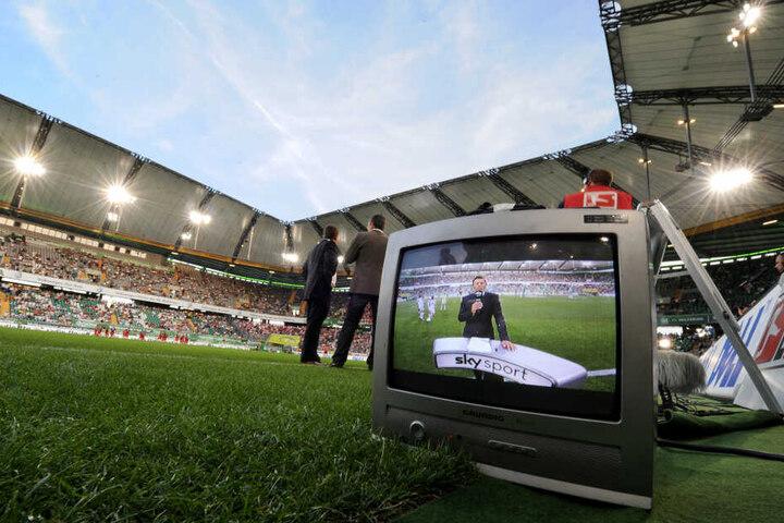 So viele, wie noch nie schalteten am Wochenende den Sender Sky Sport ein. (Archivbild)