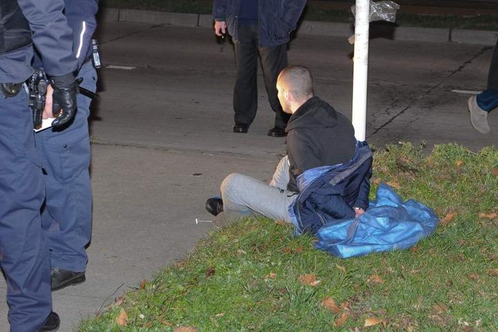 Die Polizei konnte einen stark alkoholisierten Mann festnehmen.