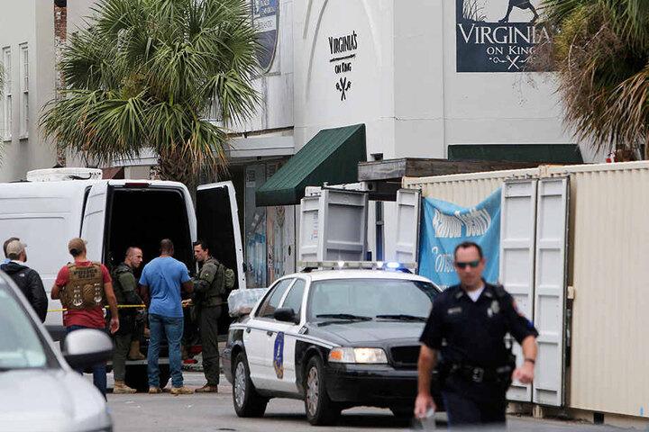 Ein aufgebrachter Angestellter hatte in dem Restaurant einen Menschen erschossen.