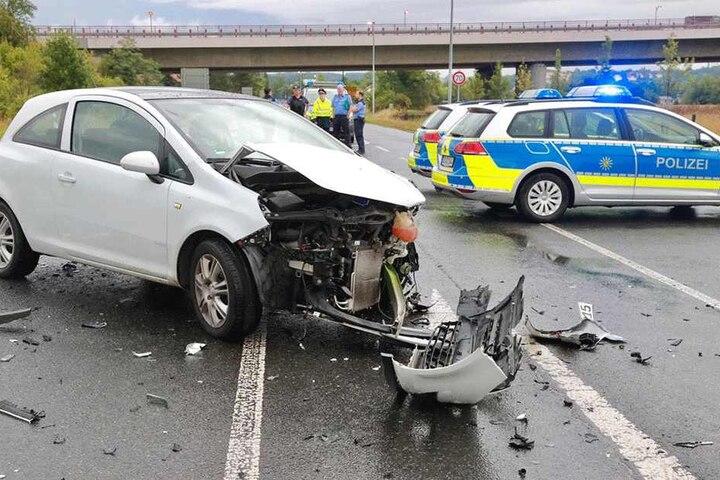 Alle drei Unfallopfer kamen ins Krankenhaus.