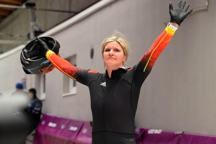 Bob-Olympiasiegerin Sandra Kiriasis.