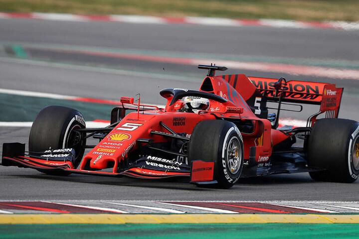 Das ist er also, der neue Dienstwagen von Sebastian Vettel.