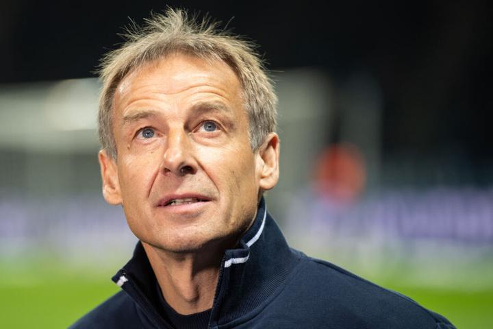 Jürgen Klinsmann war einige Tage Trainer bei Hertha BSC Berlin.